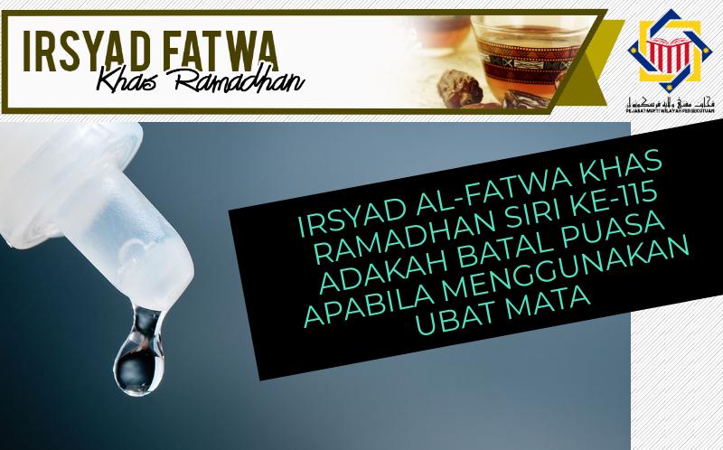 Pejabat Mufti Wilayah Persekutuan - IRSYAD AL-FATWA KHAS