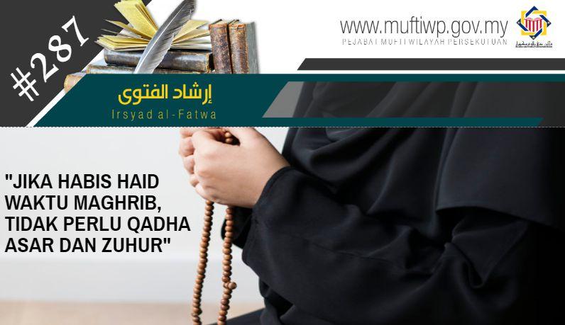Pejabat Mufti Wilayah Persekutuan Irsyad Al Fatwa Siri Ke 287