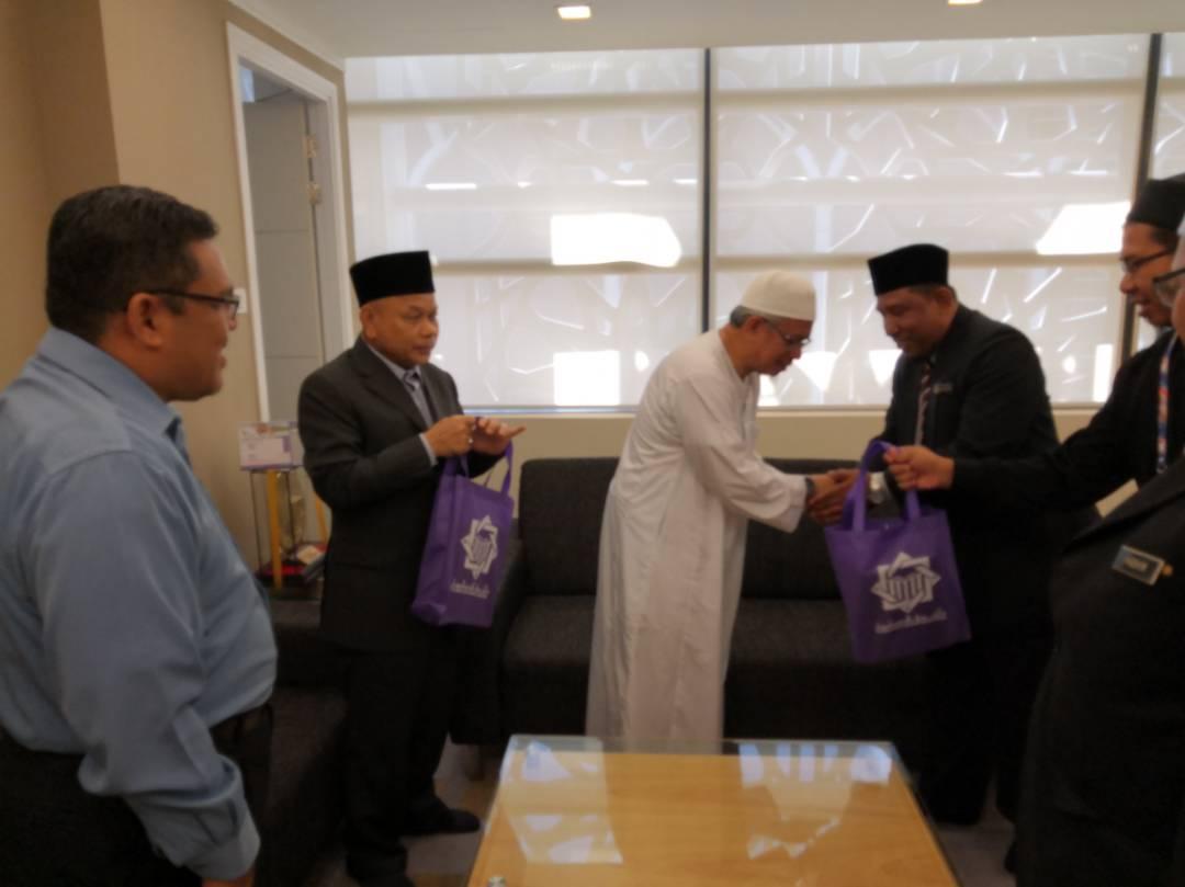 Dato56 Dato Kelenjeridze: Pejabat Mufti Wilayah Persekutuan